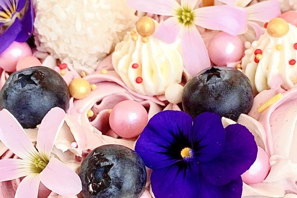 Je taart opfleuren met bloemen!